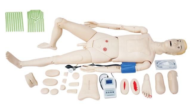 高级全功能护理人模型(带血压测量)