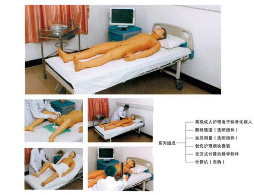 高级成人护理电子标准化病人教学系统