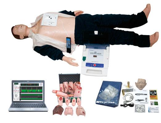 电脑高级心肺复苏、AED除颤仪、创伤模拟人(计算机控制三合一)