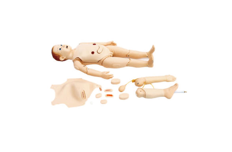 多功能三岁儿童护理模拟人